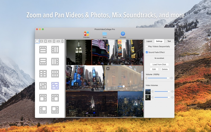 PhotoVideoCollage Pro Screenshots