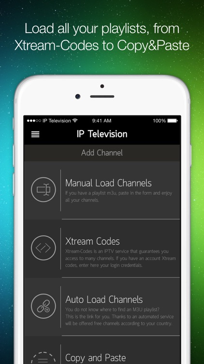 IP Television - IPTV M3U screenshot-4