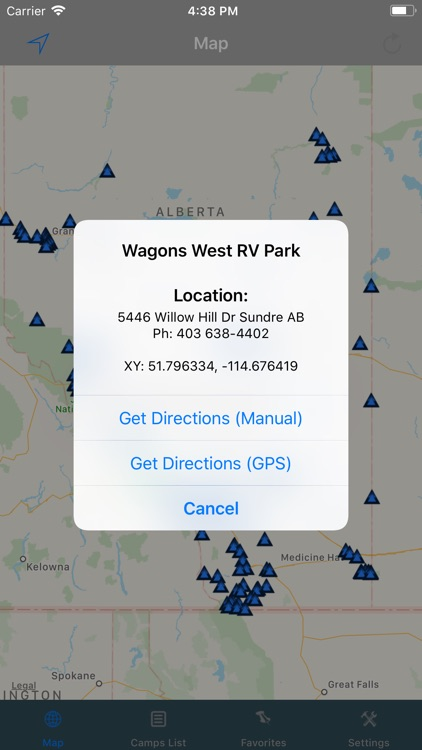 Alberta – Camping & RV spots screenshot-1