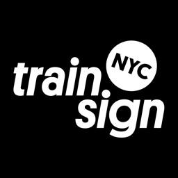 NYC Train Sign