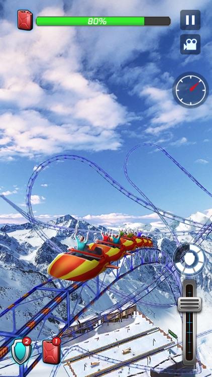 Roller Coaster Deluxe 3D screenshot-3