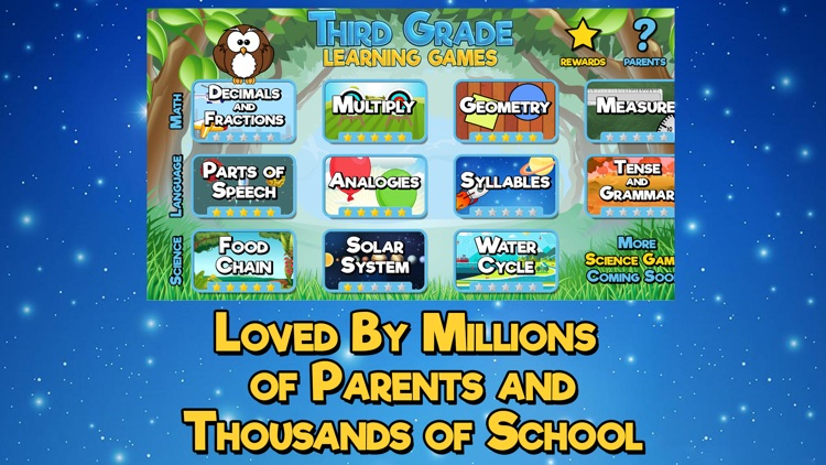 Third Grade Learning Games screenshot-4