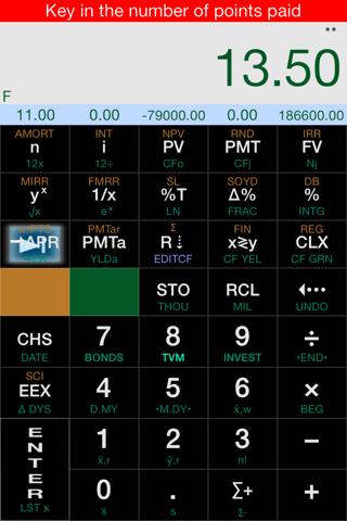Screenshot of Calc-12E RPN Financial