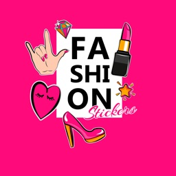 Fashion stickers - girly style