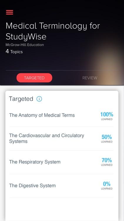 StudyWise Medical Terminology