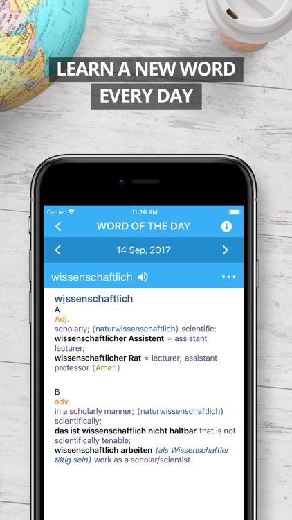 Oxford German Dictionary 2017 screenshot-4