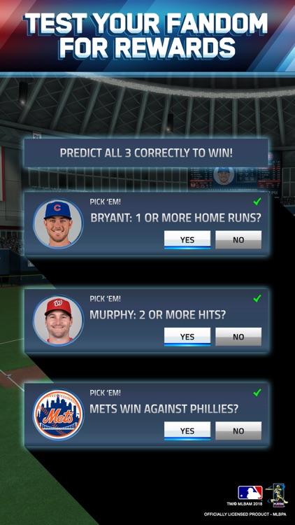 MLB Tap Sports Baseball 2018 screenshot-3