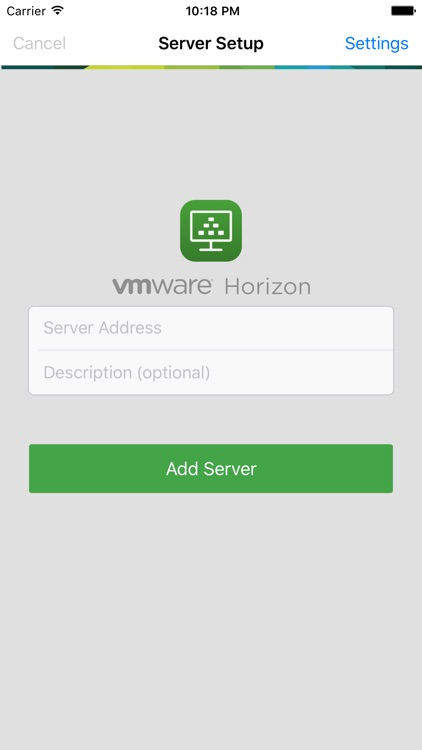VMware Horizon Client screenshot-0