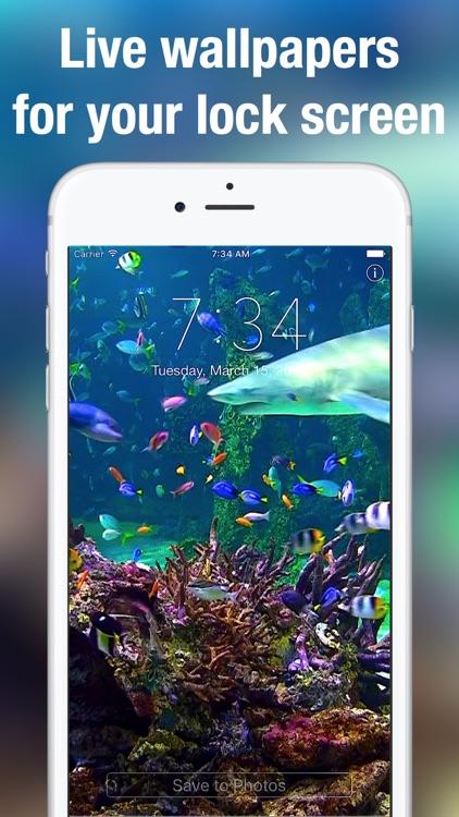 Aquarium Moving Wallpapers+ screenshot-0