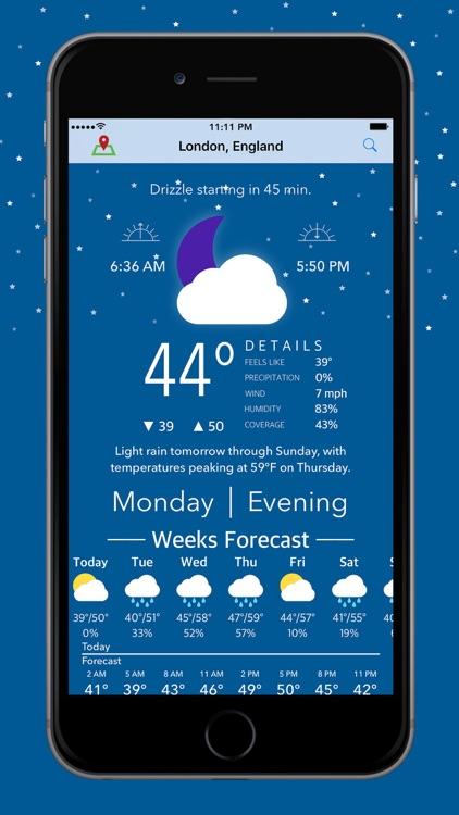 Blue Days - Hyperlocal Weather