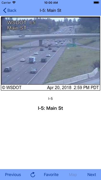 Seattle Traffic Cam