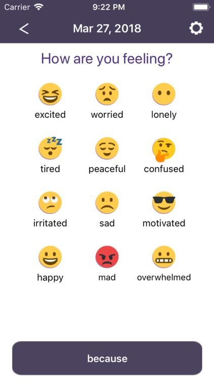 Mood Ring: Your Emoji Journal