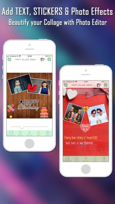 Foto Collage Maker Foto-EditorScreenshot von 4