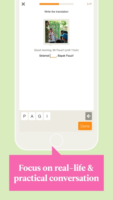 Babbel – Learn Indonesian iPhone