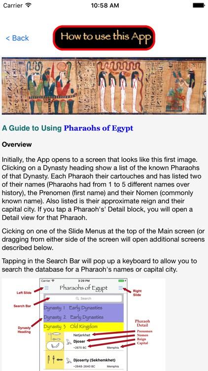 Pharaohs of Egypt screenshot-7