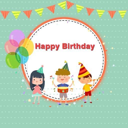Birthday Frames App,Birthday collage maker app iOS App