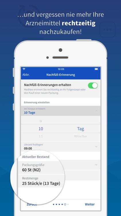 mediteo: Tabletten Erinnerung screenshot-4