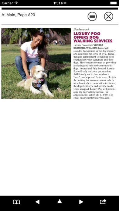 201 Magazine Screenshot