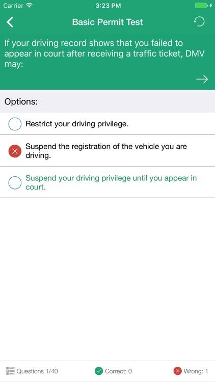 DMV Driving Test screenshot-3