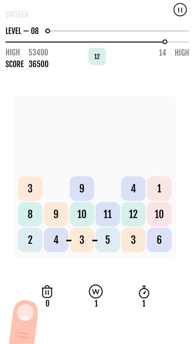 Sixteen The Puzzle screenshot 1