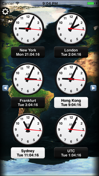 News Clocks review screenshots