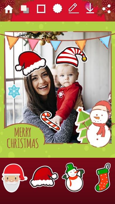 Marcos de Navidad - StickersCaptura de pantalla de5