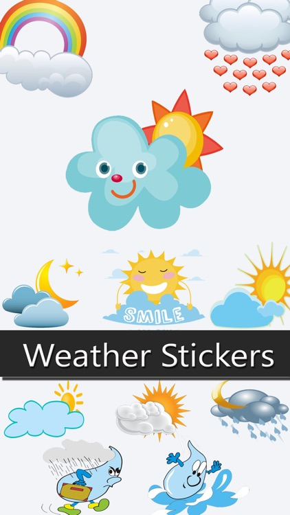 Weather Stickers!
