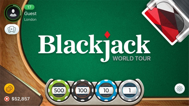 Blackjack sheet strategy