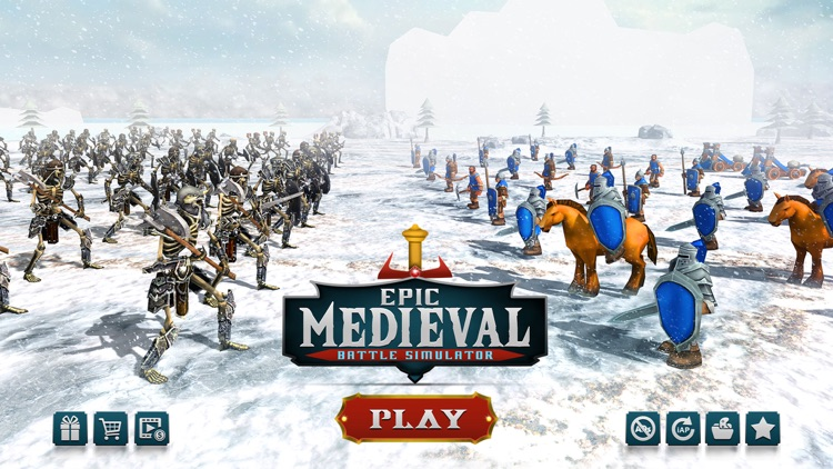 Epic Medieval Battle Simulator