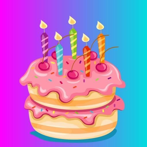Happy Birthday Sticker App Emo by salma akter