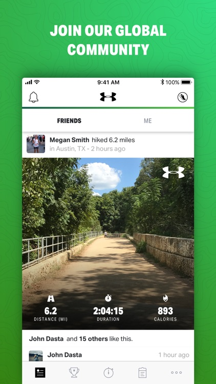 Map My Hike By Under Armour By Under Armour Inc - Map my distance