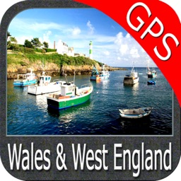 Marine : Wales and West England GPS Map Navigator