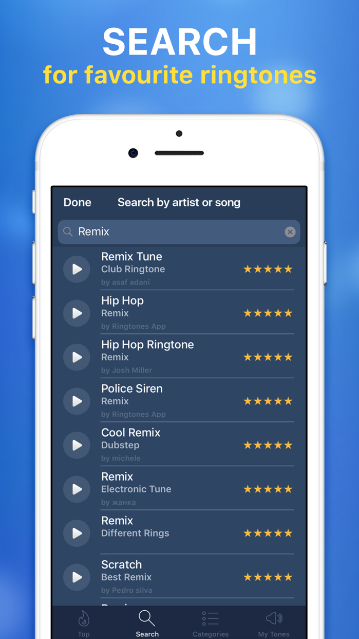 Ringtones for iPhone & Maker Screenshot