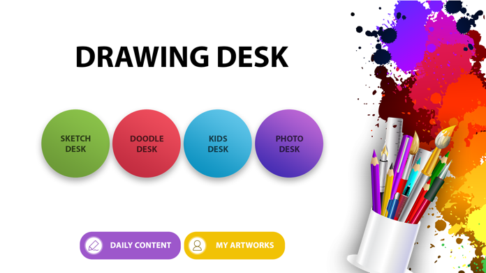 Drawing Desk: Draw & Paint Art Screenshot
