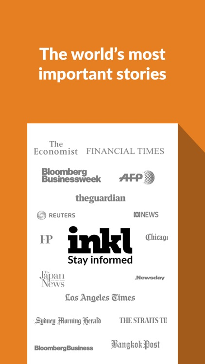 inkl - the world's best news