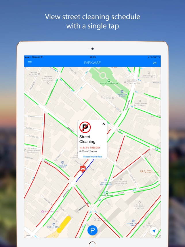ParkWise Street Parking On The App Store - Nyc street sweeping map