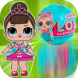 LOL surprise Dress up dolls