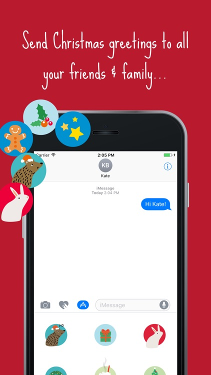 Christmas Stickers - let's dev