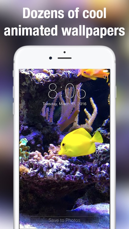 Aquarium Dynamic Wallpapers+ screenshot-3