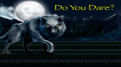 The Wolf Running Among Woods-0