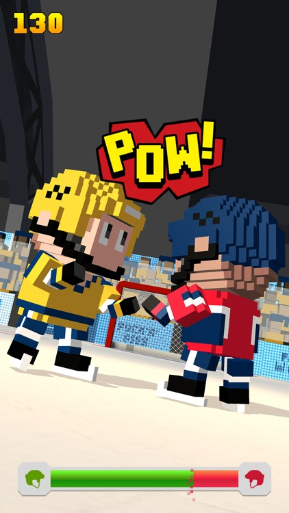 Blocky Hockey screenshot-3
