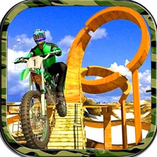 Moto Trial Bike Rider