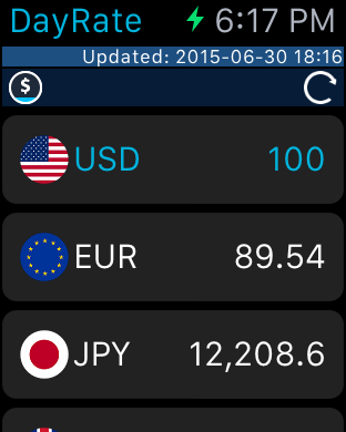 Screenshot #7 for DayRate Pro - Currency Convert