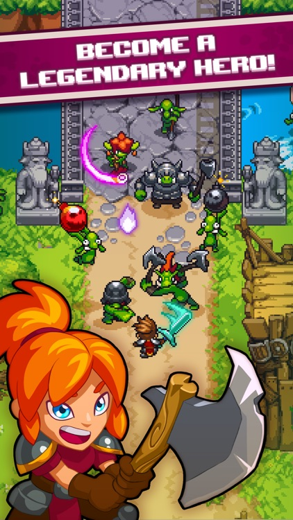 Dash Quest Heroes screenshot-0