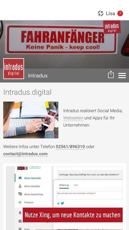 Intradus digital