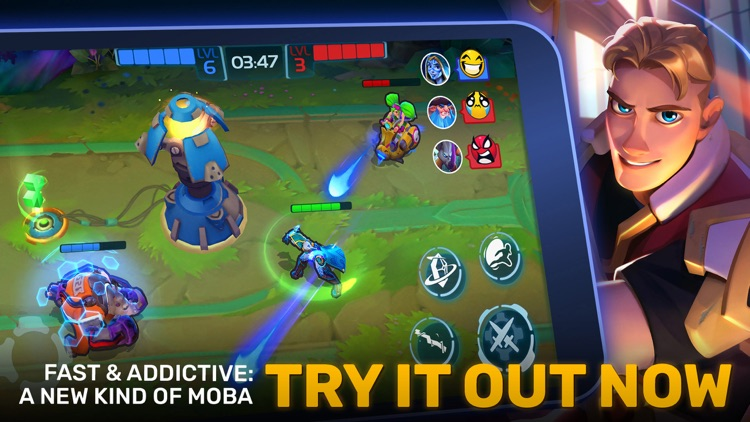 Planet of Heroes - Brawl MOBA screenshot-0
