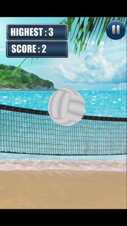 3D Beach Volleyball Finger Juggle
