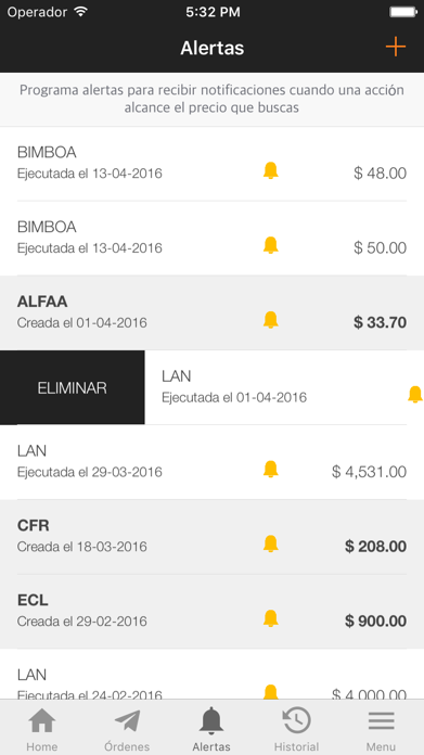 Trader App Screenshot