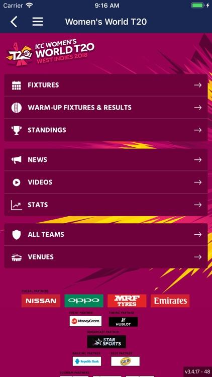 ICC Cricket screenshot-4