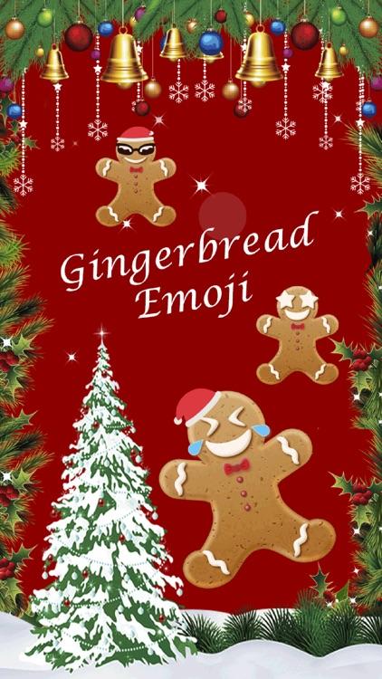 Christmas Gingerbread Emoji
